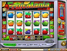 Fruitmania slot machine